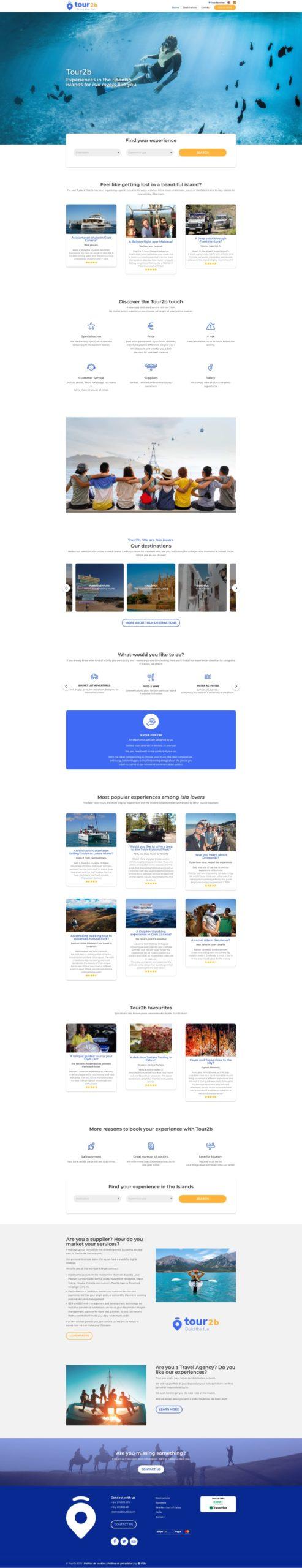 Tour2b - Programación, diseño web imagen corporativa