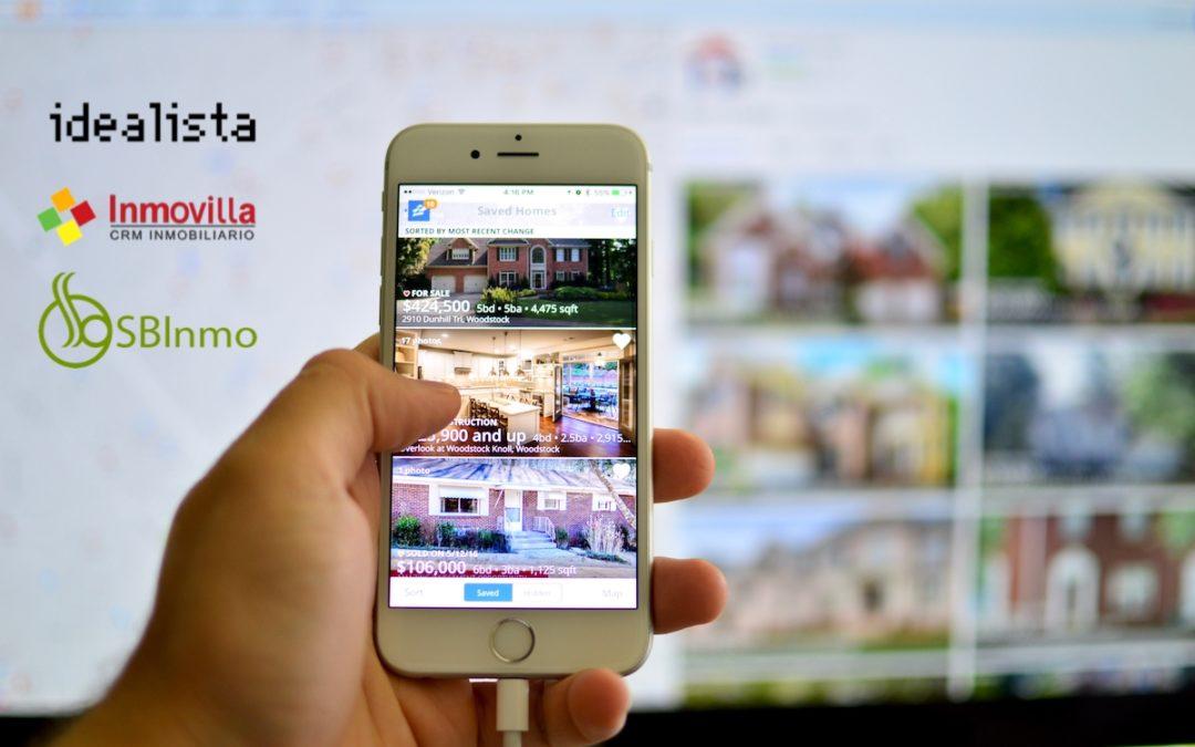web integrada con CRM inmobiliario