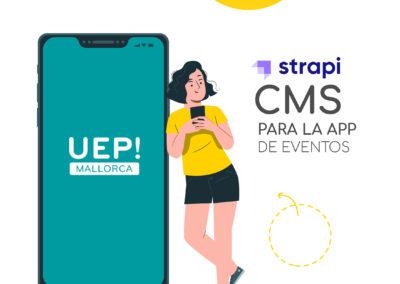 CMS para la App de eventos UEP Mallorca